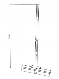 Швабра деревянная арт. 3.446